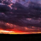 Sunset Stitch by Dave  Hartley
