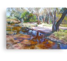 Creek Crossing, Avenel Metal Print