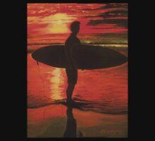 Sunrise Surfer - Sport by Linda Callaghan