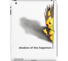 Shadow of the Hegemon iPad Case/Skin
