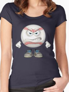 Baseball Buddy Ready To Tango Women's Fitted Scoop T-Shirt