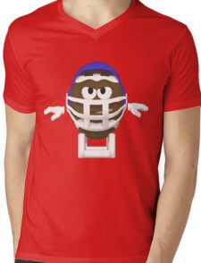 Football Buddy Ready To Rumble Mens V-Neck T-Shirt