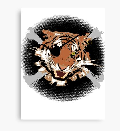 Jungle Piracy Canvas Print