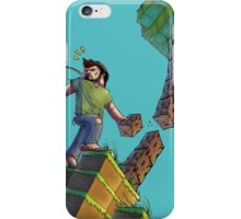 Minecraft Animation Tree Cutter iPhone Case/Skin
