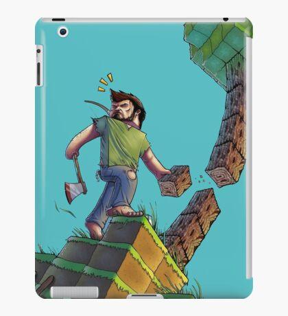 Minecraft Animation Tree Cutter iPad Case/Skin