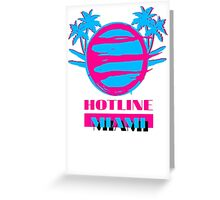 Hotline Miami: Vice Greeting Card