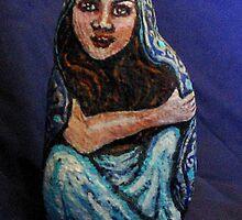 'Scheherazade' -- Patinted Rock by ArtofPatience