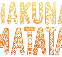 Hakuna Matata by ernieandbert