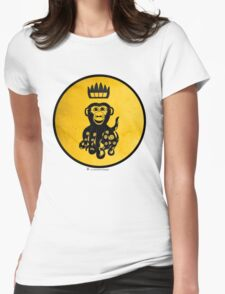 King Octochimp Says Hi Womens Fitted T-Shirt