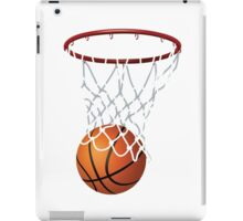 Basketball and Hoop Net iPad Case/Skin