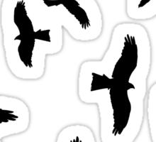 Nine Hawks Sticker