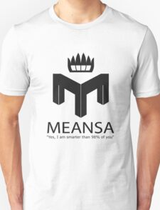 meansa Unisex T-Shirt
