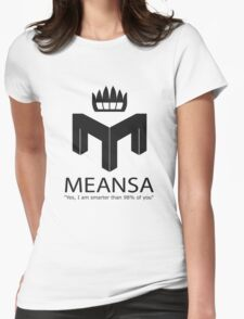 meansa Womens Fitted T-Shirt