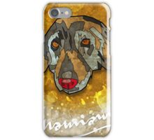 Geometric Dog iPhone Case/Skin
