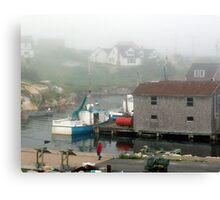 Foggy Afternoon Canvas Print