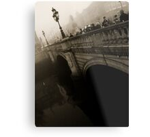 O'Connell Bridge Metal Print