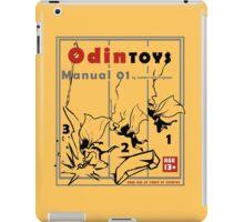 Odin toys manual01 iPad Case/Skin