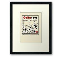 Odin toys manual01 Framed Print