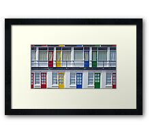 Primary Loction Framed Print