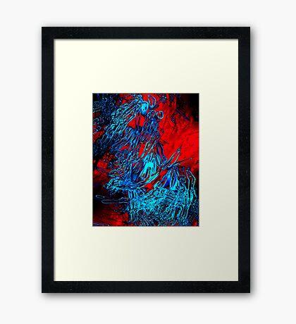 spider drugs Framed Print