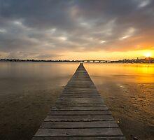 Golden Hour - Sylvania, Sydney.  by Tam Church
