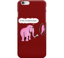 I drink to get trunk iPhone Case/Skin
