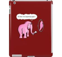 I drink to get trunk iPad Case/Skin