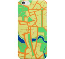 Seamless pattern of city map. iPhone Case/Skin