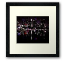 Cheers to a New Year Framed Print