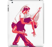 Strictly Salsa Couple Dancing With Glitter Ball iPad Case/Skin