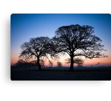 Baulking Sunrise 1 Canvas Print