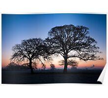 Baulking Sunrise 1 Poster