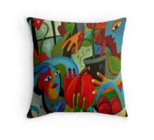 Glasshouse Glory Throw Pillow
