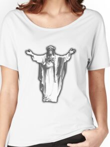 Jesus Chimp Women's Relaxed Fit T-Shirt