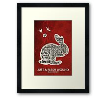 The Great Python Quotes <3 Framed Print