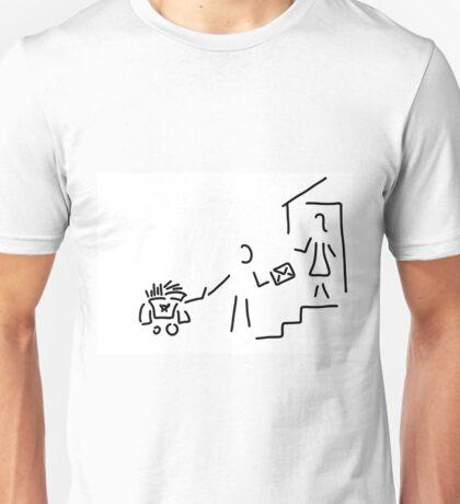 postman mailman post Unisex T-Shirt