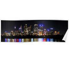 Sydney Lights Poster