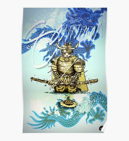 Samurai Sword Poster