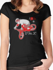 BMX Extreme Women's Fitted Scoop T-Shirt