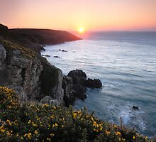 Welsh Coast Dawn by Lucy Hollis