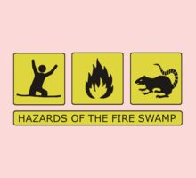 Hazards of The Fire Swamp One Piece - Long Sleeve
