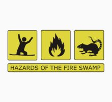 Hazards of The Fire Swamp by Octochimp Designs