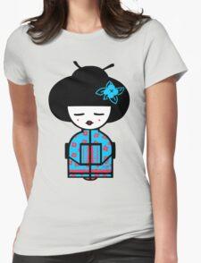 Cyan Chinese T-Shirt