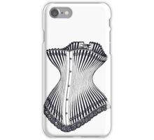 Hourglass Corset Illustration 1878 iPhone Case/Skin