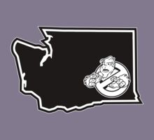 PNW:GB - Washington State (blk) Kids Tee