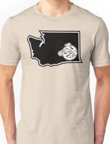 PNW:GB - Washington State (blk) Unisex T-Shirt