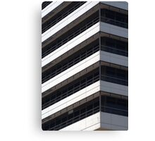 IBM office building detail Canvas Print
