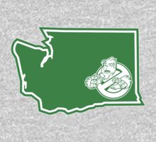 PNW:GB - Washington State (grn) One Piece - Short Sleeve