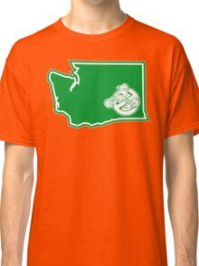 PNW:GB - Washington State (grn) Classic T-Shirt