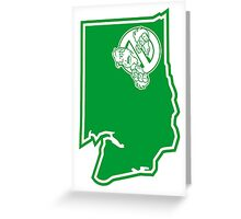 PNW:GB - Washington State (grn) Greeting Card